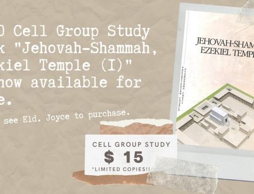 Ezekiel Temple Cell Group Book