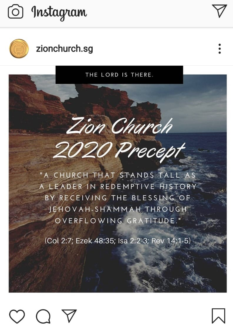 Zionchurch.sg on Instagram