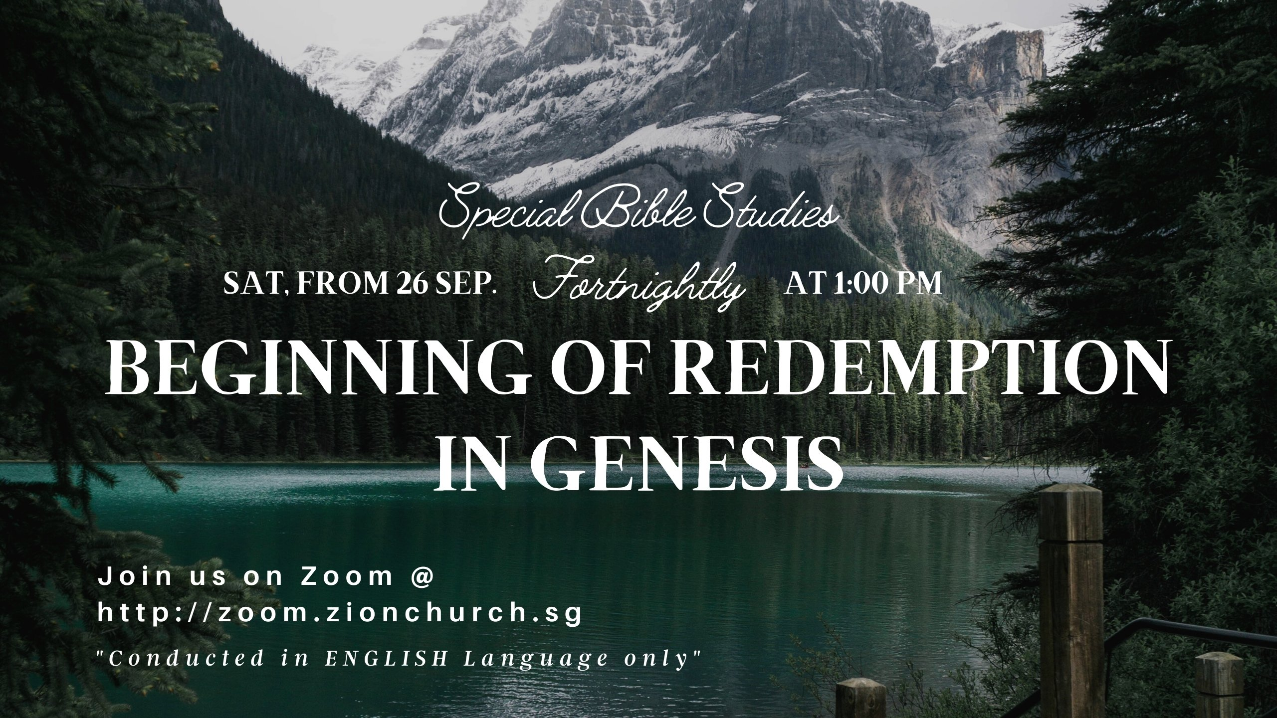 Special Bible Study Series